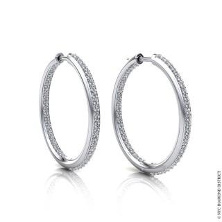 Mila Hoop Earrings