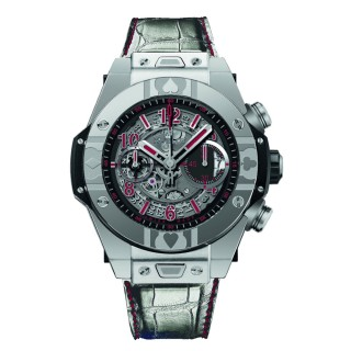 Hublot Watches - Big Bang 45mm Unico World Poker Tour