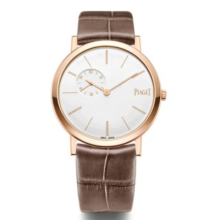 Piaget Watches - Altiplano Ultra-Thin - Mechanical - 34 mm - Rose Gold