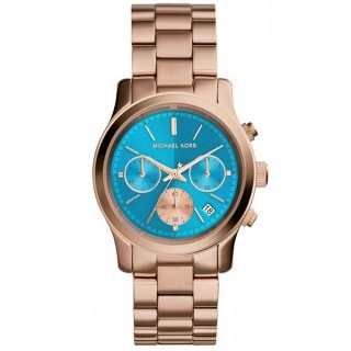 Runway Rose Gold Tone Watch
